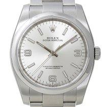 Rolex Oyster Perpetual 36mm Ref. 116000 Zifferblatt Silber