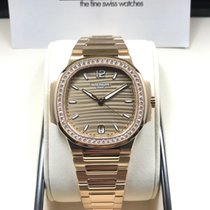 Patek Philippe 7118/1200R-010 Rose Gold Ladies Nautilus 35.2mm...