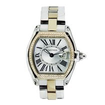 Cartier Roadster 18K Gold Diamonds