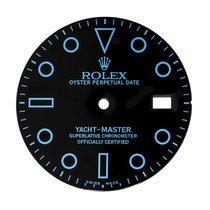 Rolex Yacht-Master Black/Blue Custom Dial