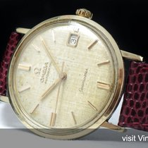 Omega Serviced Omega Seamaster Date Automatic Vintage linen dial
