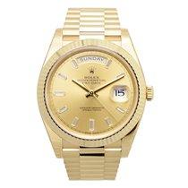 勞力士 (Rolex) Day-date 18 K Yellow Gold Gold Automatic 228238A