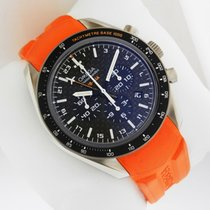 オメガ (Omega) Speedmaster HBSIA GMT Chrono SOLAR IMPULSE...
