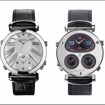 "Korloff ""Voyageur"" Reversible Watch"