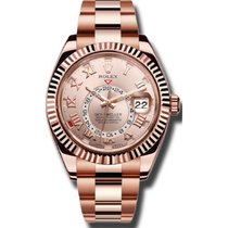 Rolex Sky-Dweller Rose Gold Sundust Dial 42mm