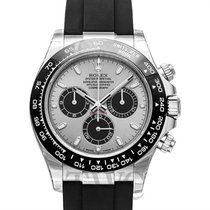 Rolex Daytona Steel and Black 18k White Gold 40mm - 116519LN