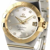 Omega 123.20.38.21.52.002 Constellation Men's Silver 38MM...