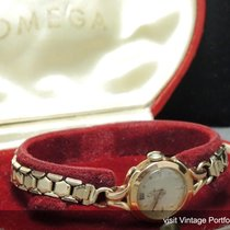 Omega Original Omega Art Deco Ladies watch in solid pink gold