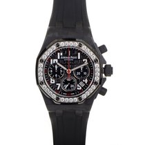 Audemars Piguet Royal Oak Offshore Forged Carbon Ladies Watch...