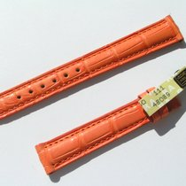 Chopard Croco Band Starp Orange 14 Mm 70/105 New C14-011 -70%
