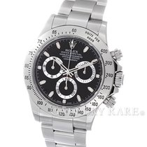ロレックス (Rolex) Cosmograph Daytona Black Dial Steel 40MM...