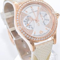 Carl F. Bucherer Carl F.  18k Rose Gold Manero Monograph w....