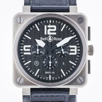 Bell & Ross Aviation Chronograph, Mens,Titanium, Automatic...