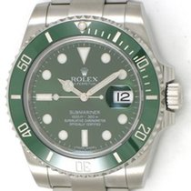 Rolex Submariner / Green Face / Steel / 116610V