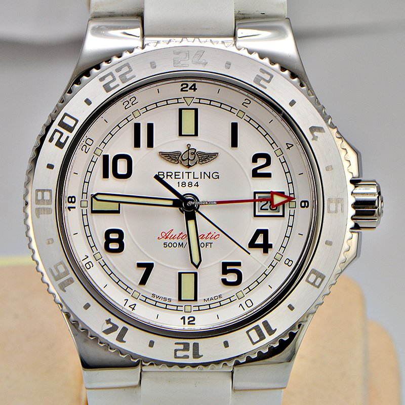 Breitling Superocean GMT / White / A32380 PRICE REDUCED sold on Chrono24