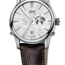 Oris Artelier Greenwich Mean Time Limited Edition Crocodile