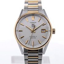 TAG Heuer Carrera Automatic 39 Steel Yellow Gold Details...