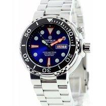 Deep Blue Sun Diver III 1k Diving Watch 1000m Wr Seiko 40hr...