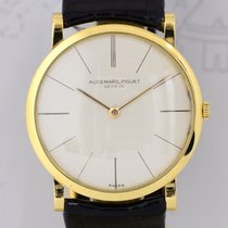 Audemars Piguet 18K Gelbgold Ultra Flat Vintage Gold Ultraflac...