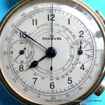 Eberhard & Co. RARE Marvin 1930s Stunning 18k Chronograph...