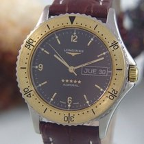 Longines Admiral 5 Stars Automatik Day Date Stahl / Gold...