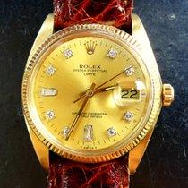 Rolex Oyster Perpetual Yellow Gold 14K 585 Diamond Chronometer