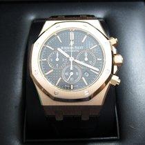 Audemars Piguet Royal Oak Chronograph 18K Rose Gold/Black...
