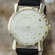 Longines Solid 14K Gold Swiss Made 33mm Vintage 1960s Manual...