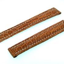 Breitling Band 15mm Croco Brown Marron Strap Ib15-30