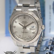 Rolex Datejust II Steel 18k White Gold & Diamond 41mm...
