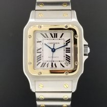 Cartier Santos Galbee XL Men's Ref. W20099C4 18k Two Tone...