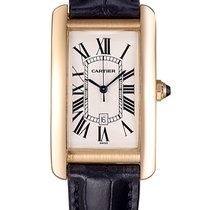 Cartier Large Cartier Tank Americaine 18K Yellow Gold 1740