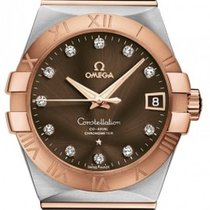 Omega 123.20.38.21.63.001 Constellation Mens Automatic in...
