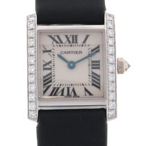Cartier Tank Francaise 18K Solid White Gold Diamonds