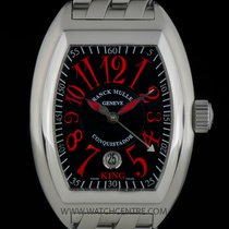 Franck Muller S/S King Conquistador Ltd Ed Rosso Vivo 8005 SC...