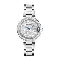 Cartier Ballon Bleu Automatic Ladies Watch Ref WE902048