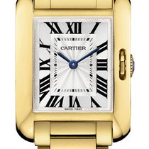 Cartier Tank Anglaise SMALL 18kt Yellow Gold AUTHENTIC w5310014