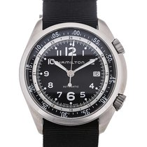 Hamilton Khaki Aviation Pilot Pioneer 41 Automatic Date
