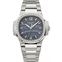 Patek Philippe Nautilus Stainless Steel Diamonds 7018/1A-010...
