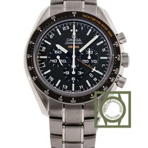 Omega Speedmaster HB-SIA Co Axial GMT Chronograph Limited NEW