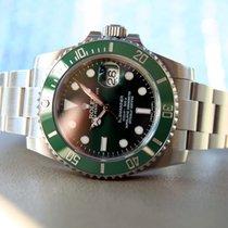 Rolex Submariner Date 116610lv Hulk Full Set