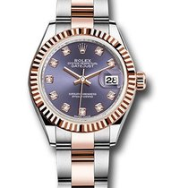 Rolex Unworn 279171AUDO Datejust 28mm Automatic in Steel and...