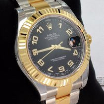 Rolex Datejust II 116333 Two Tone 18k Yellow Gold & Ss...