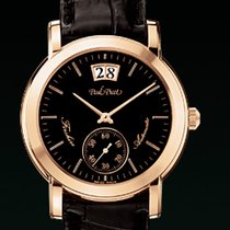 Paul Picot FIRSHIRE  RONDE  strap skin brown dial  black