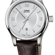 Oris Classic Date Farbe Silber