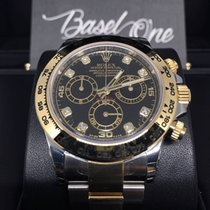 勞力士 (Rolex) 116503g black Daytona gold steel