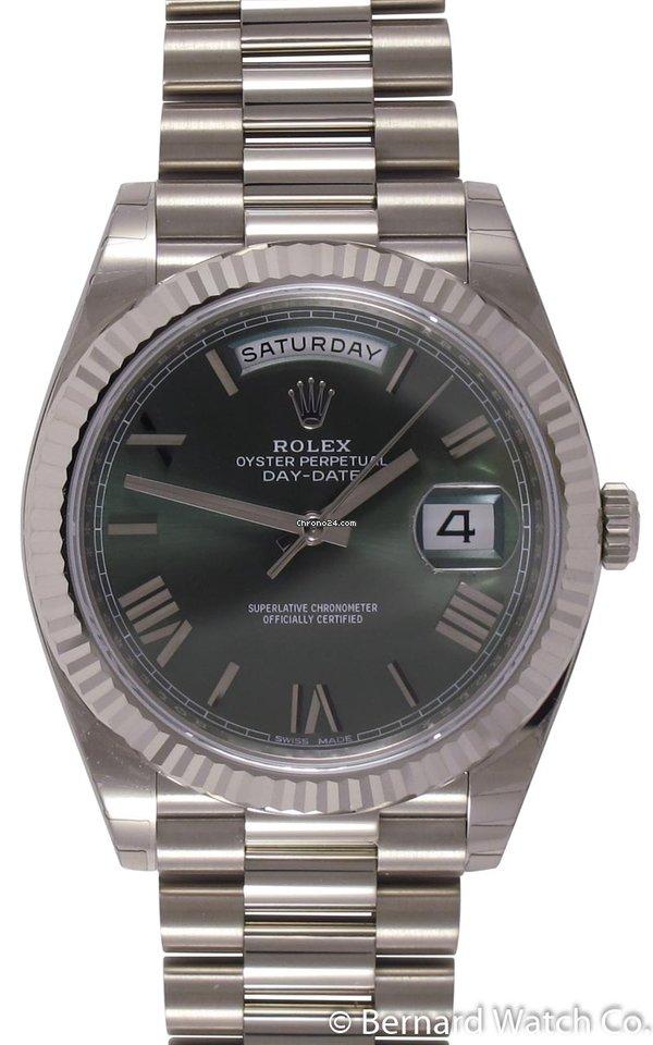 6addbc9bdfe Rolex   Day-Date 40 President   228239   18k White Gold  ... por R  123.549  para vender por um Trusted Seller na Chrono24