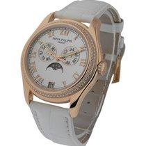 Patek Philippe 4936R 4936 Annual Calendar Ladies Diamond Bezel...