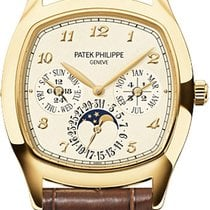 Patek Philippe PERPETUAL CALENDAR MOON PHASE  YELLOW GOLD 5940J