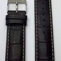 Hamilton Jazzmaster Lederband schwarz 21mm XL H600.100.210